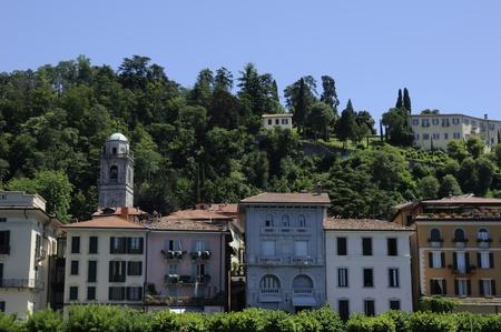 Bellagio on beautiful Lake Como Italy Europe photo