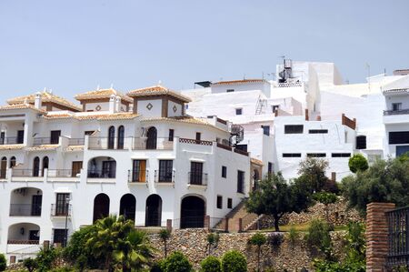 Frigiliana, one of the beautiful white villages of Andalucia in Spain
