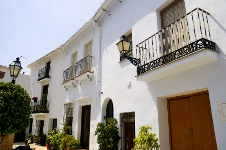 Frigiliana, one of the beautiful white villages of Andalucia in Spain Stock Photo - 14543257