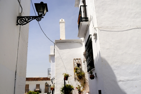 Frigiliana, one of the beautiful white villages of Andalucia in Spain Stock Photo - 14543250
