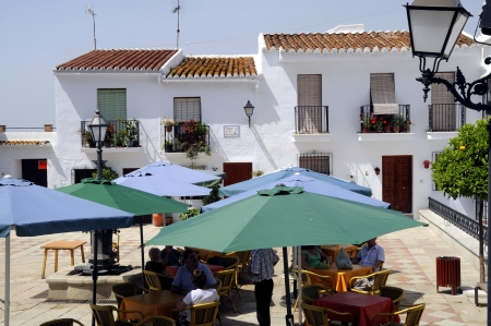 Frigiliana, one of the beautiful white villages of Andalucia in Spain Stock Photo - 14543259