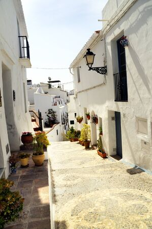 Frigiliana, one of the beautiful white villages of Andalucia in Spain Stock Photo - 14543233