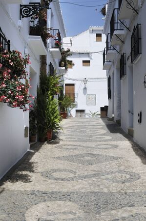 Frigiliana, one of the beautiful white villages of Andalucia in Spain Stock Photo - 14543280