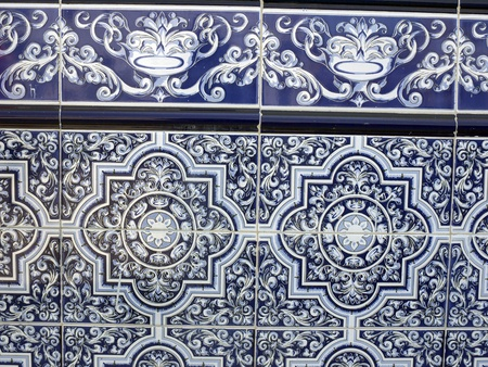 Traditional Tiles in Frigiliana, one of the beautiful white villages of Andalucia in Spain Stock Photo - 14543214