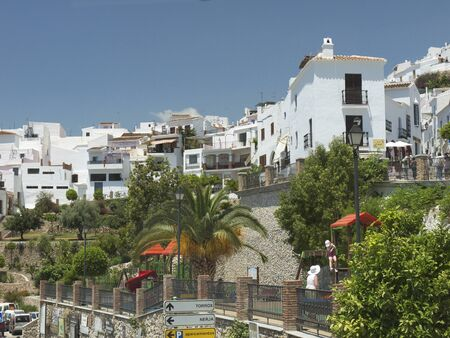 Frigiliana, one of the beautiful white villages of Andalucia in Spain Stock Photo - 14543240