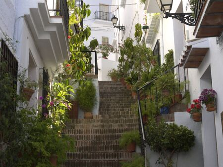 Frigiliana, one of the beautiful white villages of Andalucia in Spain Stock Photo - 14543297