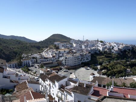 Frigiliana, one of the beautiful white villages of Andalucia in Spain Stock Photo - 14543253