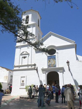 Nerja on the Costa del Sol in Andalucia Spain Stock Photo - 14543276