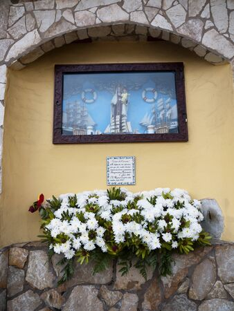 Fishermens Shrine in Puerto de la Cruz Tenerife Canary Islands Spain