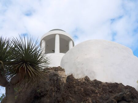 Shrine in Puerto de la Cruz in Tenerife in the Canary Islands Spain