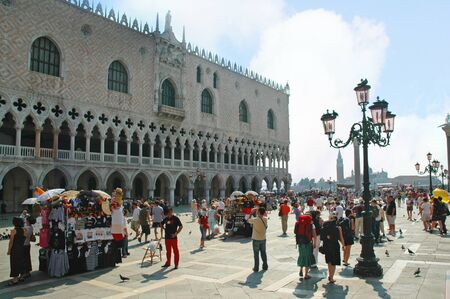 doges  palace: The Doges Palace in Venice Italy