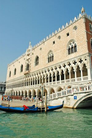 doge's palace: Doges Palace in Venice Italy Editorial