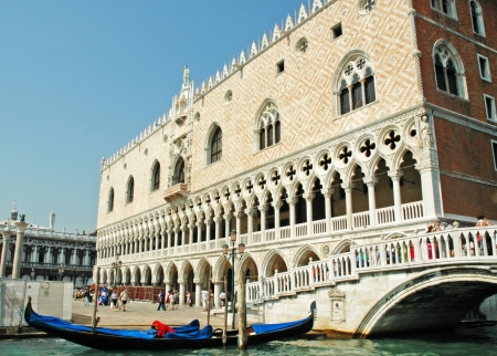 doges: Doges Palace in Venice Italy Editorial