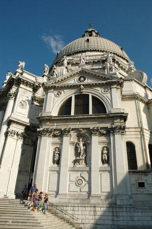 Church of Santa Maria della Salute in Venice Italy photo