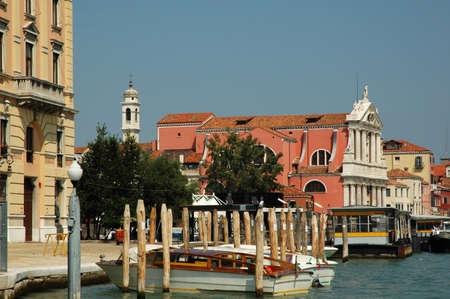 clock of the moors: Old Palazzo on the Grand Canal in Venice Italy Editorial