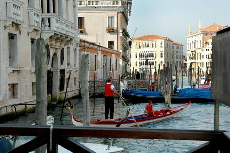 doges: The Grand Canal in Venice Italy