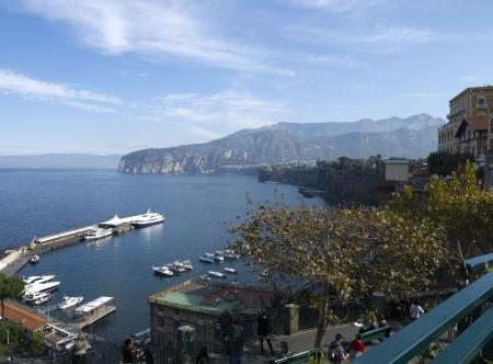 marquetry: Hermosa terraza con vistas al mar en Sorrento Campania Italia