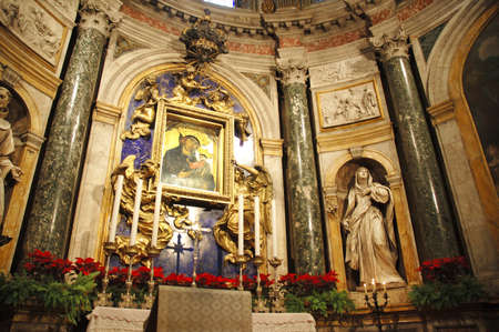 high altar: High Altar of Church in Florence Italy
