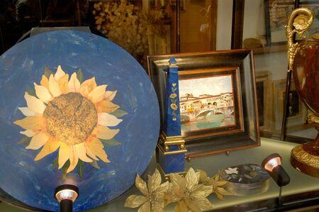 dura: Pietro Dura objects in Florence Italy Stock Photo
