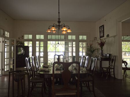 myers: First house in the world lit by electricity in Fort Myers Florida USA Editorial