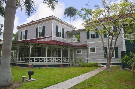 myers: Edison House in Fort  Myers Florida USA