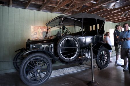 myers: Model T Ford in Fort Myers Florida USA