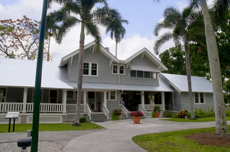 Edison House in Fort Myers Florida USA
