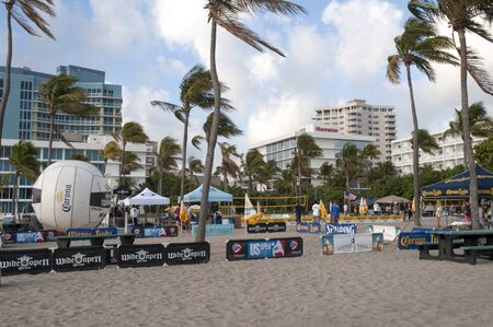 Beach at Fort Lauderdale is a city in the U.S. state of Florida, on the Atlantic coast Stock Photo - 14543482