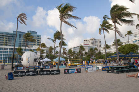 Beach at Fort Lauderdale is a city in the U.S. state of Florida, on the Atlantic coast
