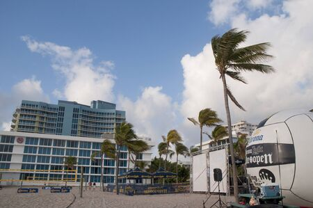 Beach at Fort Lauderdale is a city in the U.S. state of Florida, on the Atlantic coast  Stock Photo - 14543502