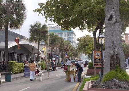 Los Olas Food Festival in Fort Lauderdale is a city in the U.S. state of Florida, on the Atlantic coast Stock Photo - 14543488