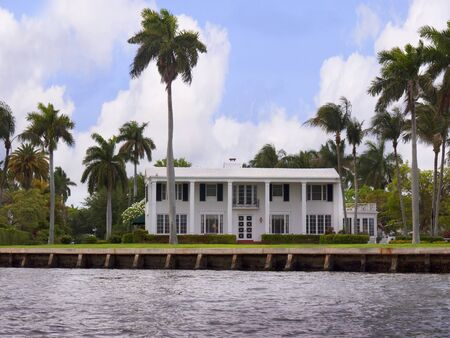 Spectacular Homes in Fort Lauderdale is a city in the U.S. state of Florida, on the Atlantic coast Stock Photo - 11561628