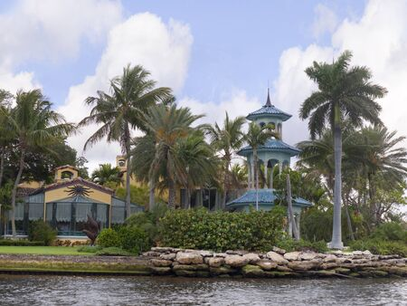 Spectacular Homes in Fort Lauderdale is a city in the U.S. state of Florida, on the Atlantic coast Stock Photo - 11561585