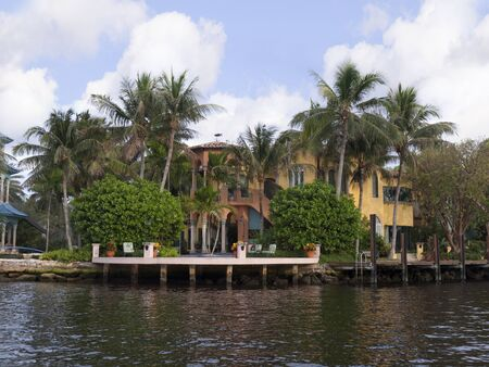 Spectacular Homes in Fort Lauderdale is a city in the U.S. state of Florida, on the Atlantic coast Stock Photo - 11561610