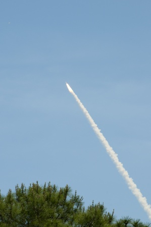 re fuel: Launch of last Atlantis Shuttle From Titusville Florida USA