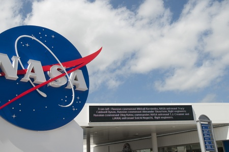 re fuel: Kennedy Space Centre at Cape Canavarel Florida Editorial