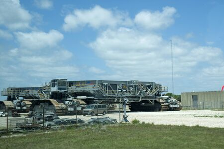 Shuttle Crawler at Kennedy Space Centre at Cape Canavarel Florida