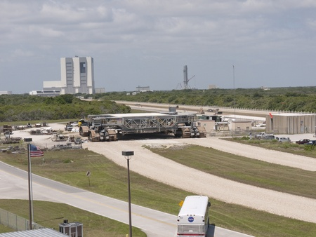 re fuel: Shuttle Crawler at Kennedy Space Centre at Cape Canavarel Florida