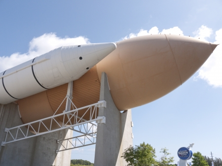 capsules: Space vehicles at Kennedy Space Centre at Cape Canavarel Florida