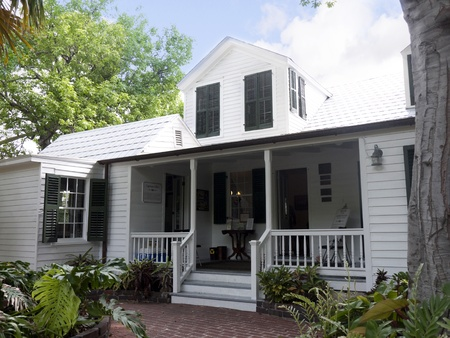 Oldest House in Key West in the Florida Keys in the State of Florida USA photo