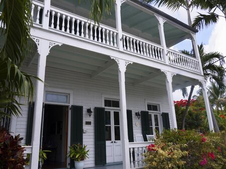 Old Hotel in Key West Florida USA photo