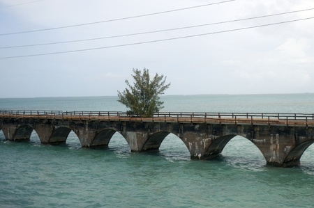 7 Mile Bridge a Key West Florida USA photo