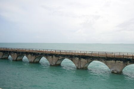 7 mile bridge  at Key West Florida USA photo