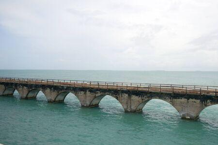 7 mile bridge  at Key West Florida USA photo