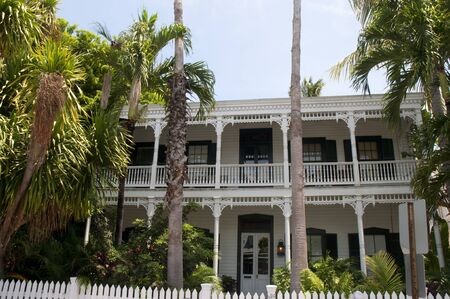 Old House in Key West in the Florida Keys in the State of Florida USA Stock Photo - 11563269