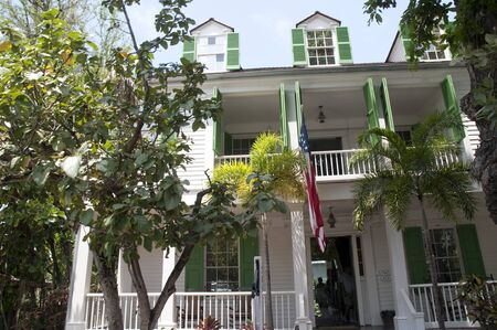 Old House a Key West in Florida Keys nello Stato della Florida USA photo