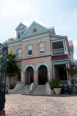 hemingway: Old Hotel in Key West Florida USA