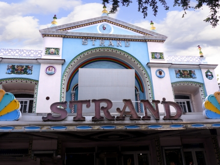 Old Cinema in Key West in the Florida Keys in the State of Florida USA Stock Photo - 14543568