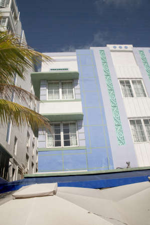 Art Deco Hotel on South Beach Miami Florida USA Stock Photo - 11563045