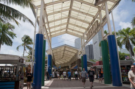Market in Miami Florida USA